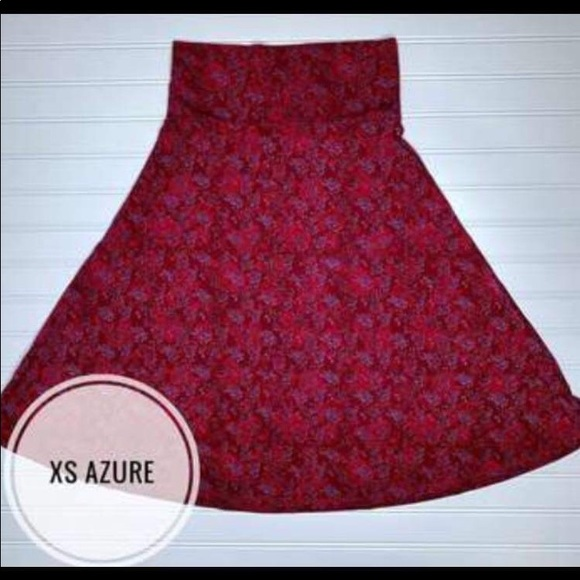 LuLaRoe Dresses & Skirts - Xs Azure A-lone skirt NWT